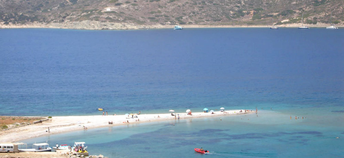 Amorgos beaches Cyclades Greece